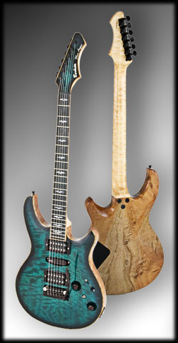 Blue Angel Electric Guitar, Berketa Guitars